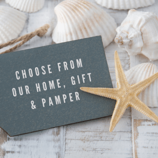 Choose from our Home, Gift & Pamper