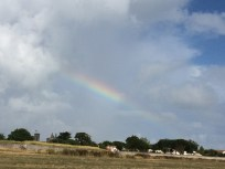 Rainbow over St Martin de Ré