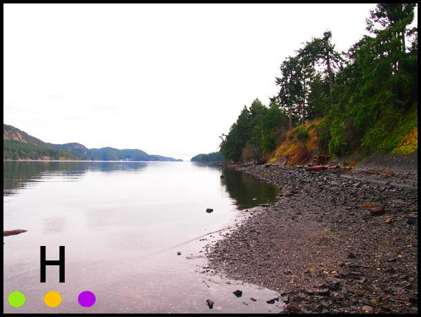 medicine beach, pender island