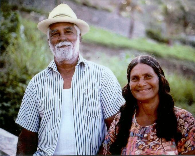man, woman, hat, beard, louis, celena, ollivierre,