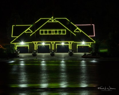 Philadelphias Boathouse Row at Night %name