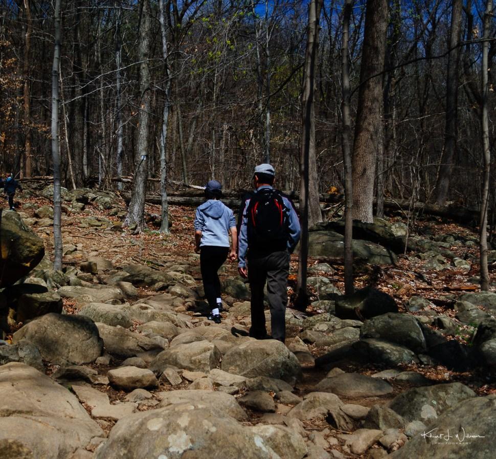 people, rocks, sourland mountain