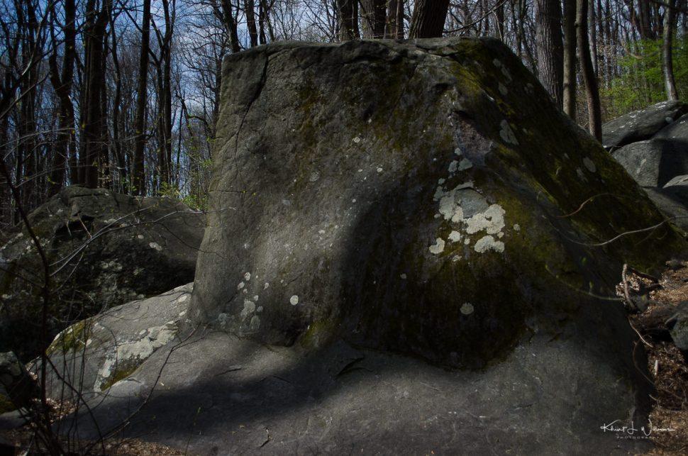rocks, sourland mountain, boulder