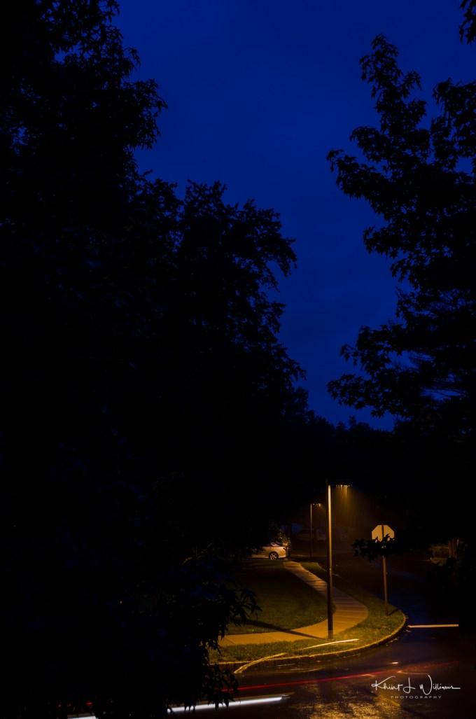 blue, blue hour