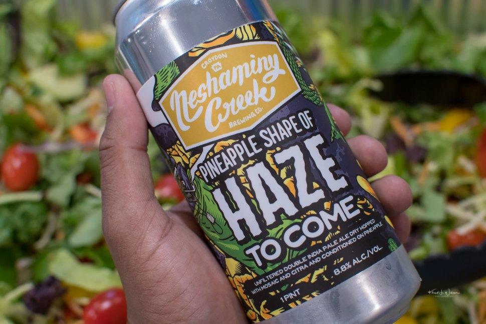 Neshaminy Creek Brewing Company \'s Pineapple Shape of Haze To Come