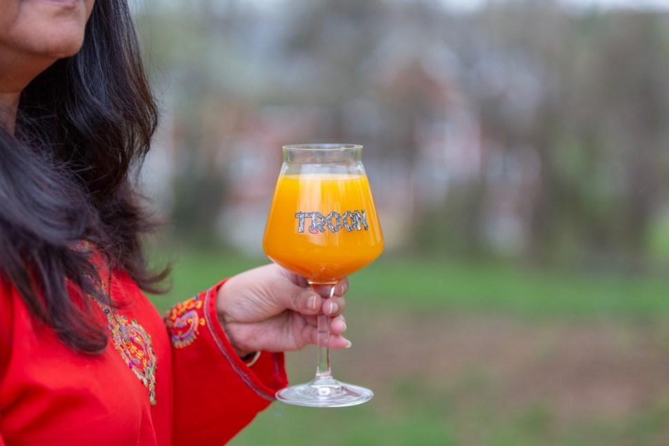 Troon Brewing, Fleeting Fulfillment, Beer, Glass, Teku