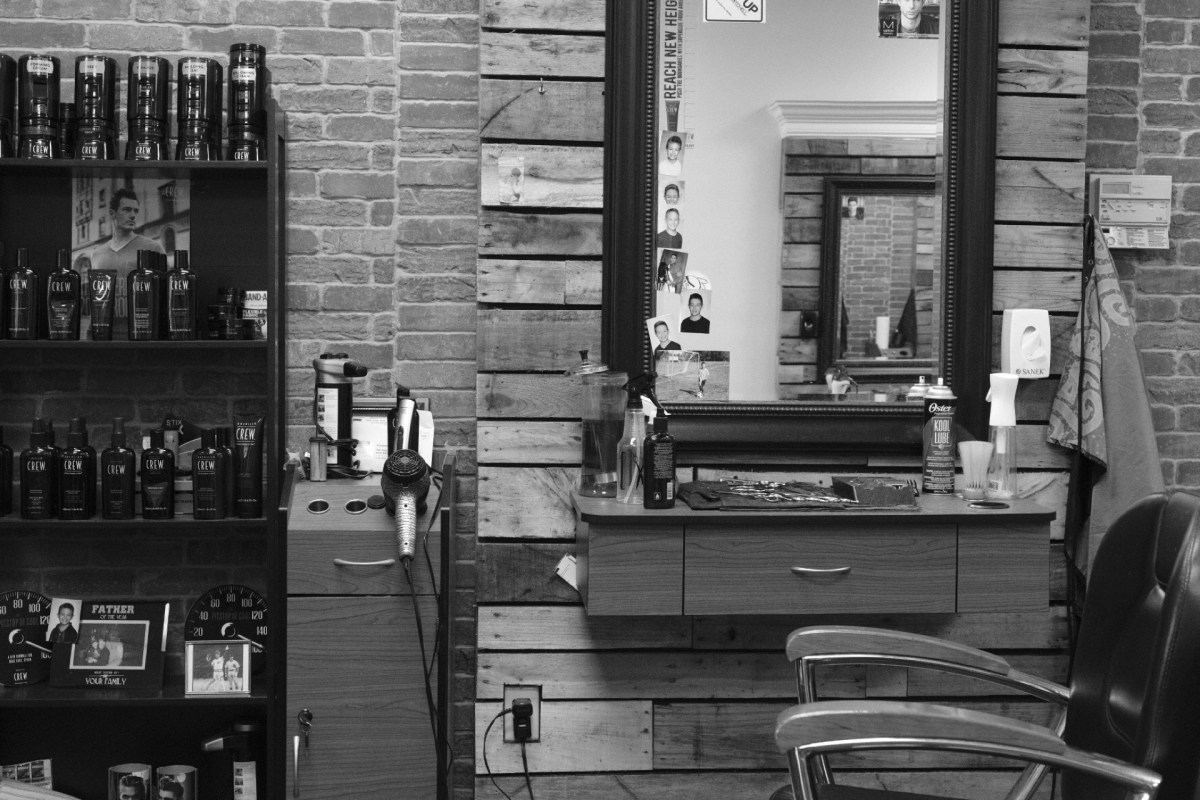 Checked in at MetroMale Barbering II