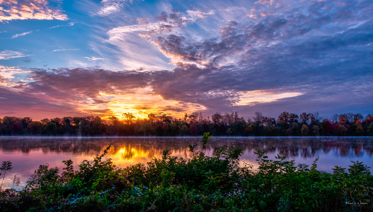 Carnegie Lake Sunrise