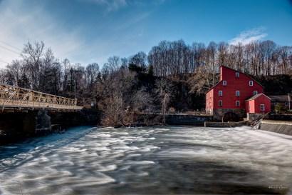 Red Mill Museum and Main Street Bridge, Clinton Township | FujiFilm X-T2 | Fujinon XF16-55mmF2.8 R LM WR