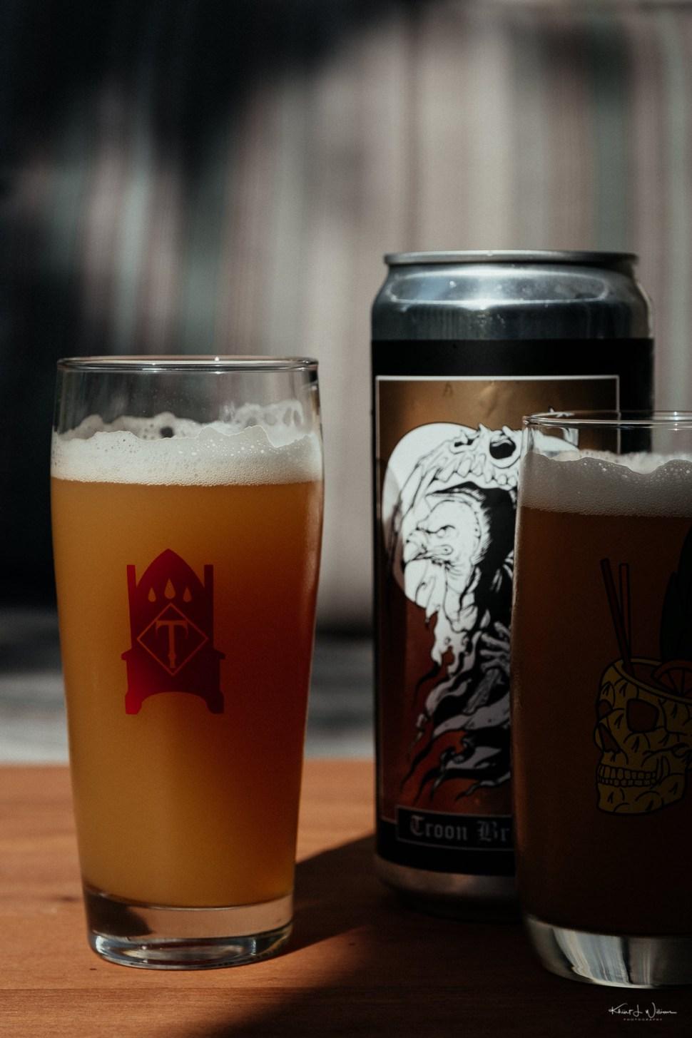 Beer, Glasses, Crowler