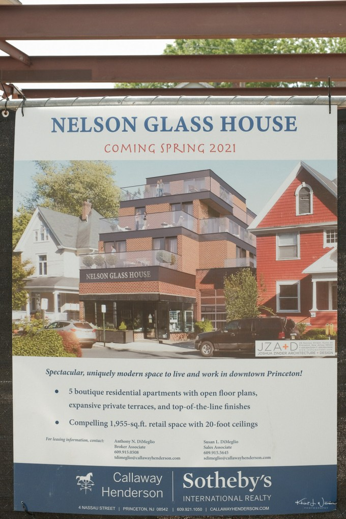 Glass House project on Spring Street