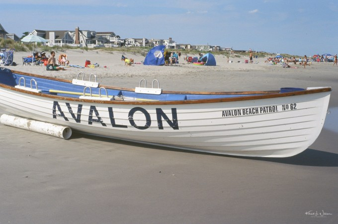 Avalon Beach Patrol Life Boat