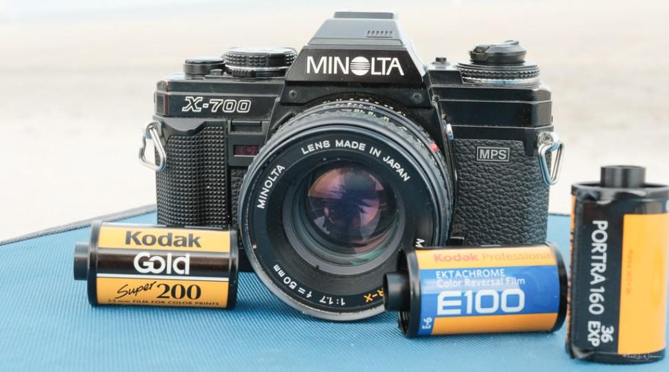 X-700 and film rolls