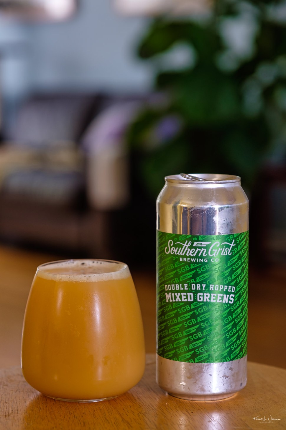 DDH Mixed Greens XXVIII by Southern Grist Brewing Company craft ale
