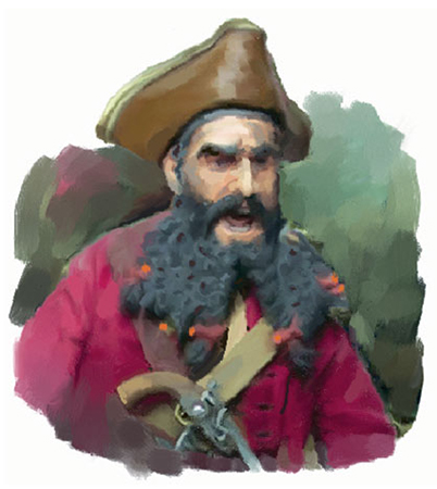 Pirates of the Carolinas Blackbeard the Pirate