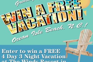Enter to Win a Free Vacation
