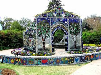 Airlie Gardens Bottle Chapel Minnie Evans