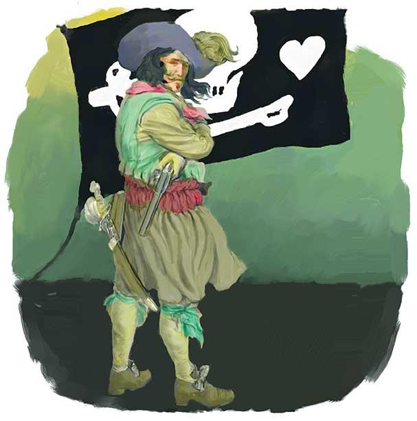 Pirates of Carolinas Stede Bonnet