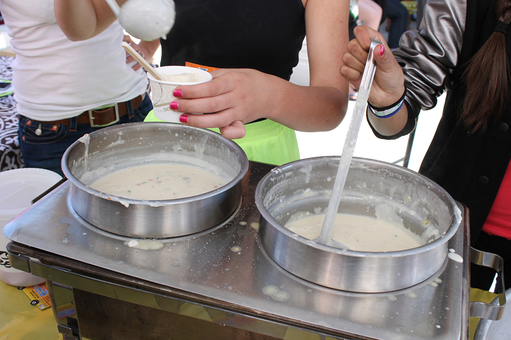 clam-chowder-cook-off Beaufort NC