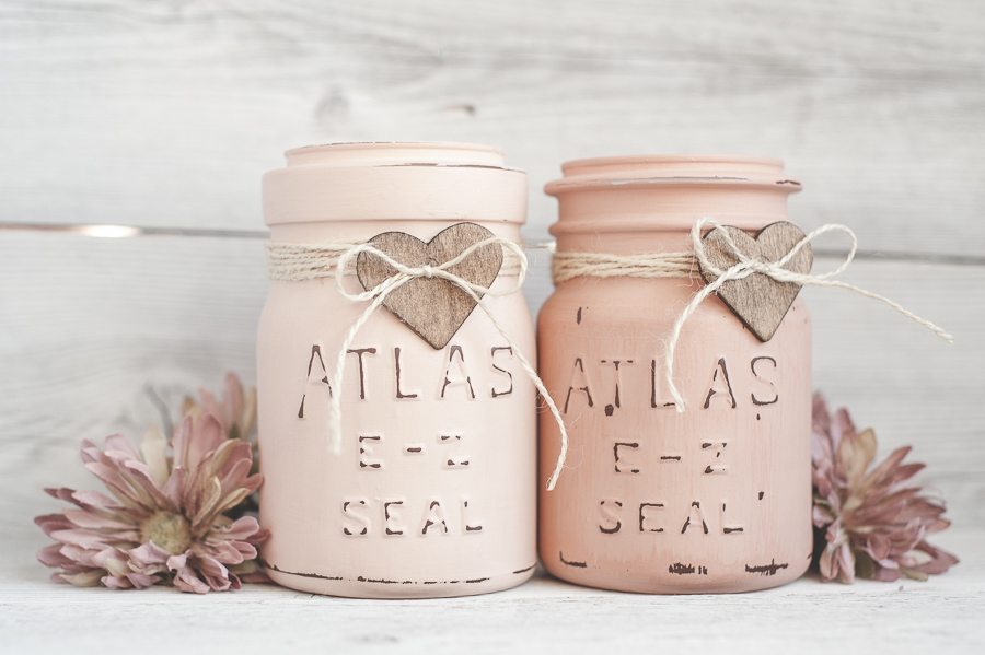 Craft Painted Mason Jars