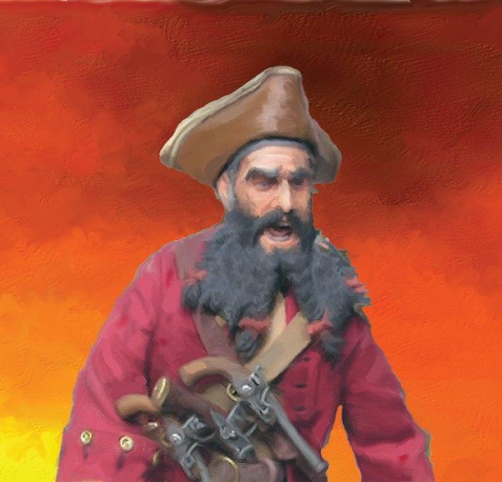 Pirates of the Carolinas Blackbeard The Pirate