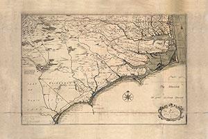 Historic NC Coastal Map