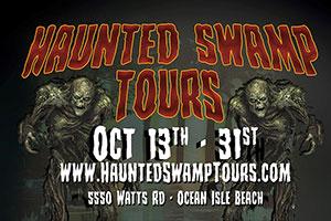 Haunted Swamp Tours!