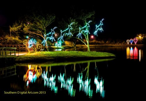 Lighting at the Lake