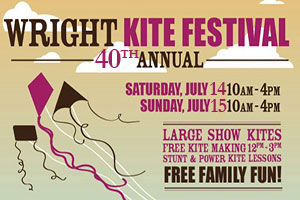 40th Annual Wright Kite Festival