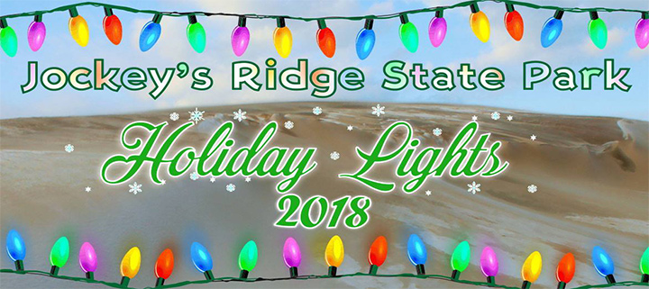 Jockey's Ridge State Park Holiday Lights