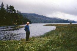 Bill Hill, lagoon.