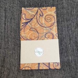 Vancouver Island made Beeswax wrap, light orange