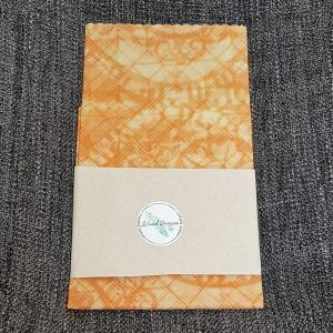 Vancouver Island made Beeswax wrap, light orange