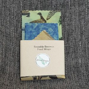 Beeswax wraps made on Vancouver Island by Island Reveries