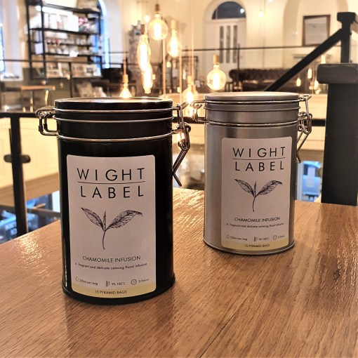 Wight Label Tea - Filled Tea Caddy - Chamomile Infusion