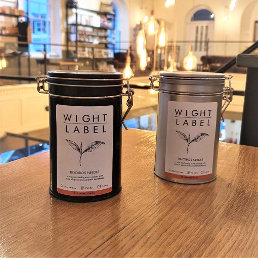 Wight Label Tea - Filled Tea Caddy - Rooibos Needle
