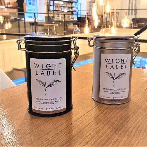 Wight Label Tea - Filled Tea Caddy - English Breakfast Select