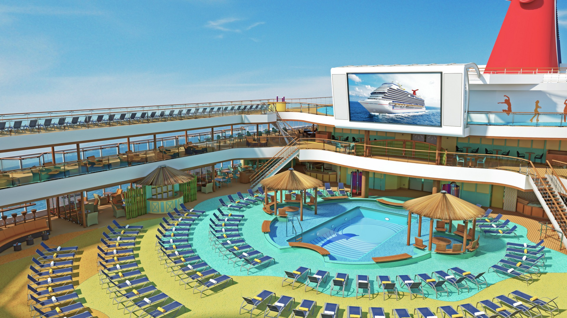 Carnival Breeze Joins The Carnival Cruise Lines Fleet