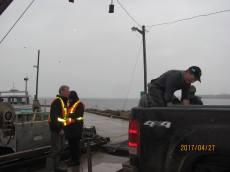 Dockside Monitoring - Cape Egmont
