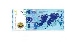 Malvinas billete de 50 pesos