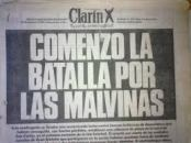 Malvinas comenzó la batalla