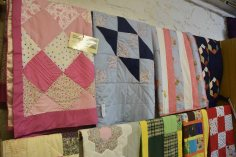 A range of quilts for sale