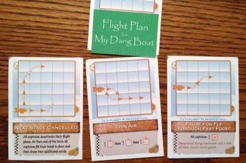 Zeppeldrome action cards