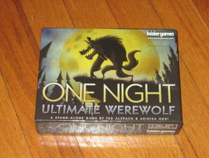 One Night Ultimate Werewolf box