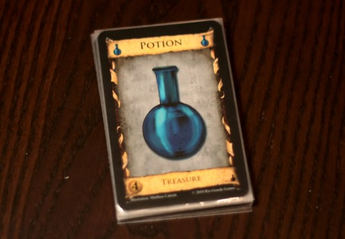Yes. The potion.