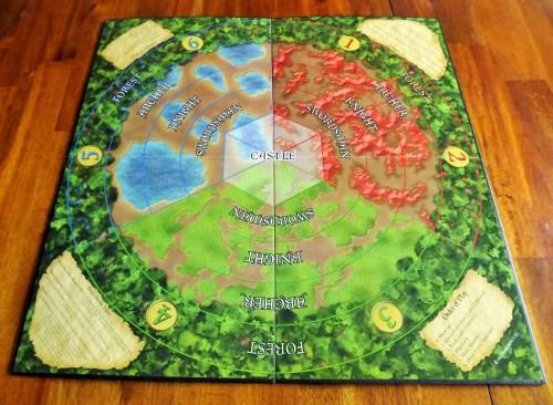 Castle Panic Board