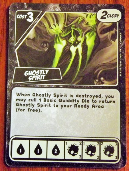 Quarriors! Ghost Card