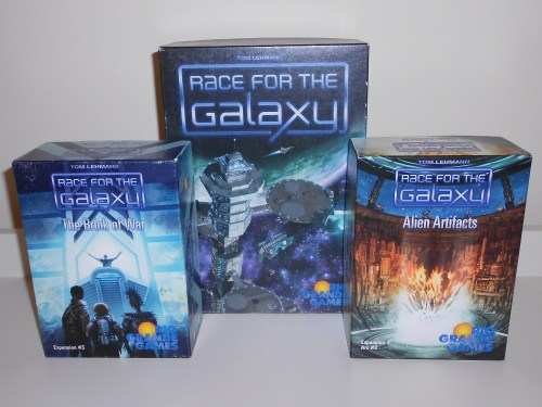 Race For The Galaxy - Boxes