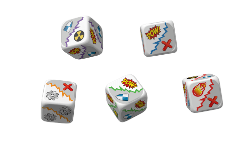Fancy custom dice