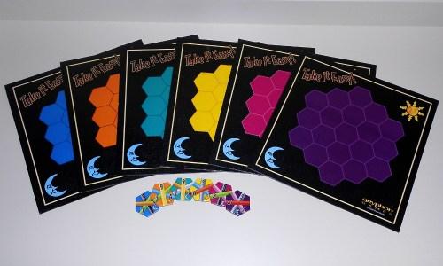 Take it Easy - Board Colors